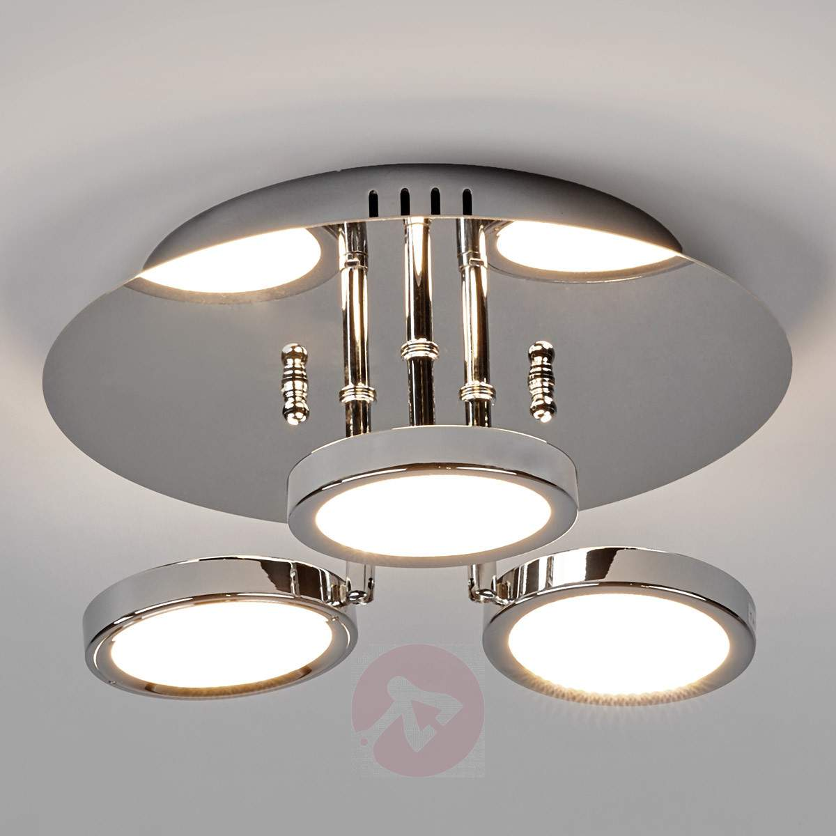 3 Bulb Ceiling Light