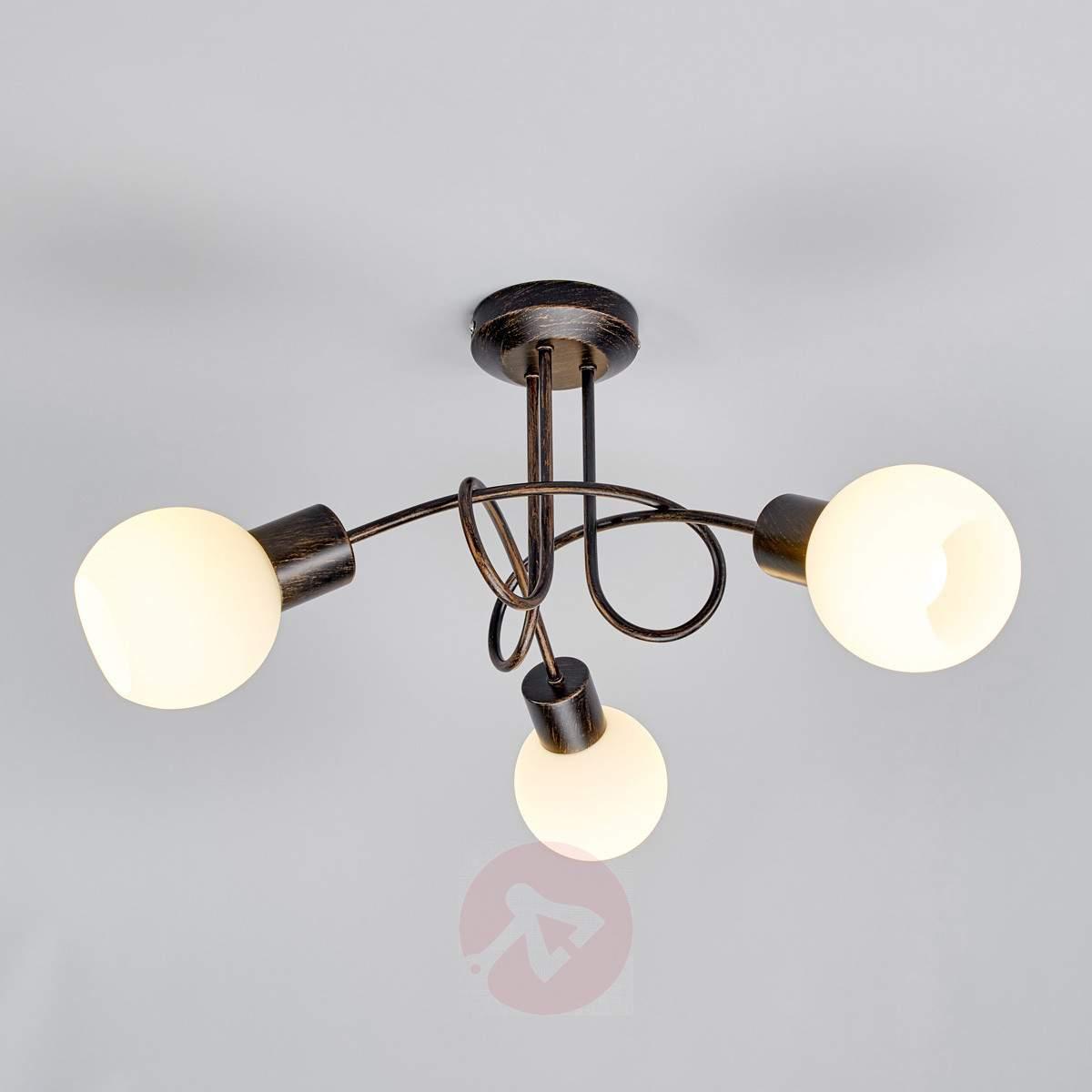 Three bulb ceiling light fixture lighting designs 3 bulb ceiling light fixture downmodernhome arubaitofo Images