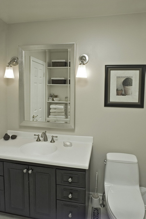 Make yourself Glow with 16 amazing Bathroom wall mirrors with lights ...