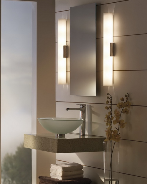 Wall Mirrors With Lights: bathroom-wall-mirrors-with-lights-photo-6,Lighting