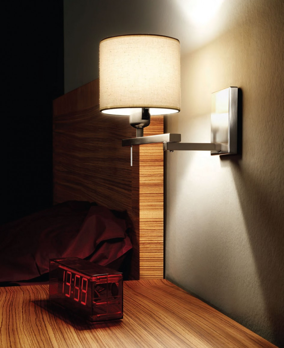 Design. Bed reading lamps   10 important things you need to know about it