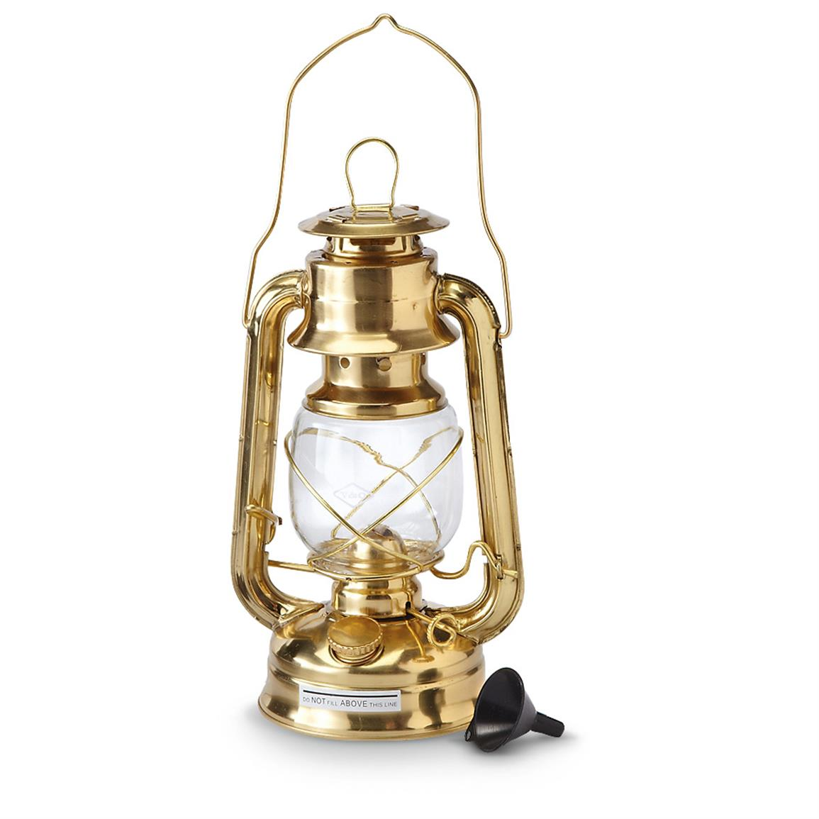 Brass Hurricane Lamp Created To Keep A Lamp S Flame From