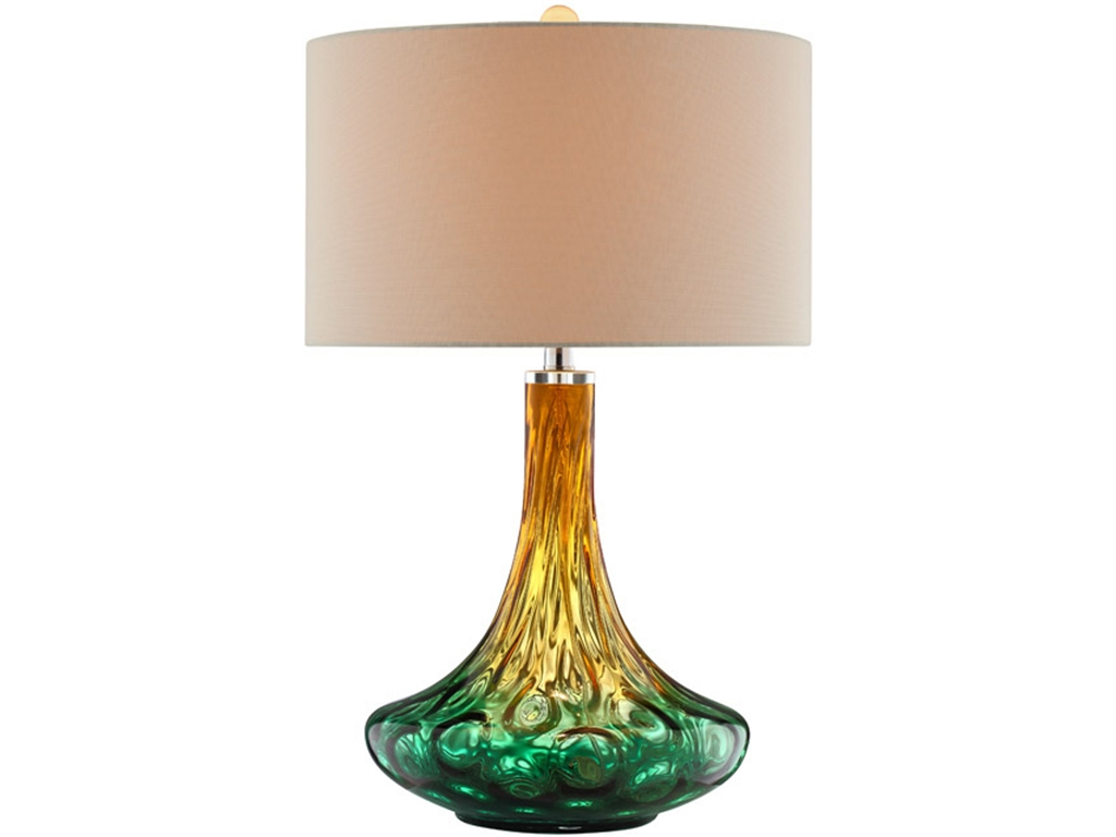 Broyhill mercury glass table lamp - Broyhill Table Lamps