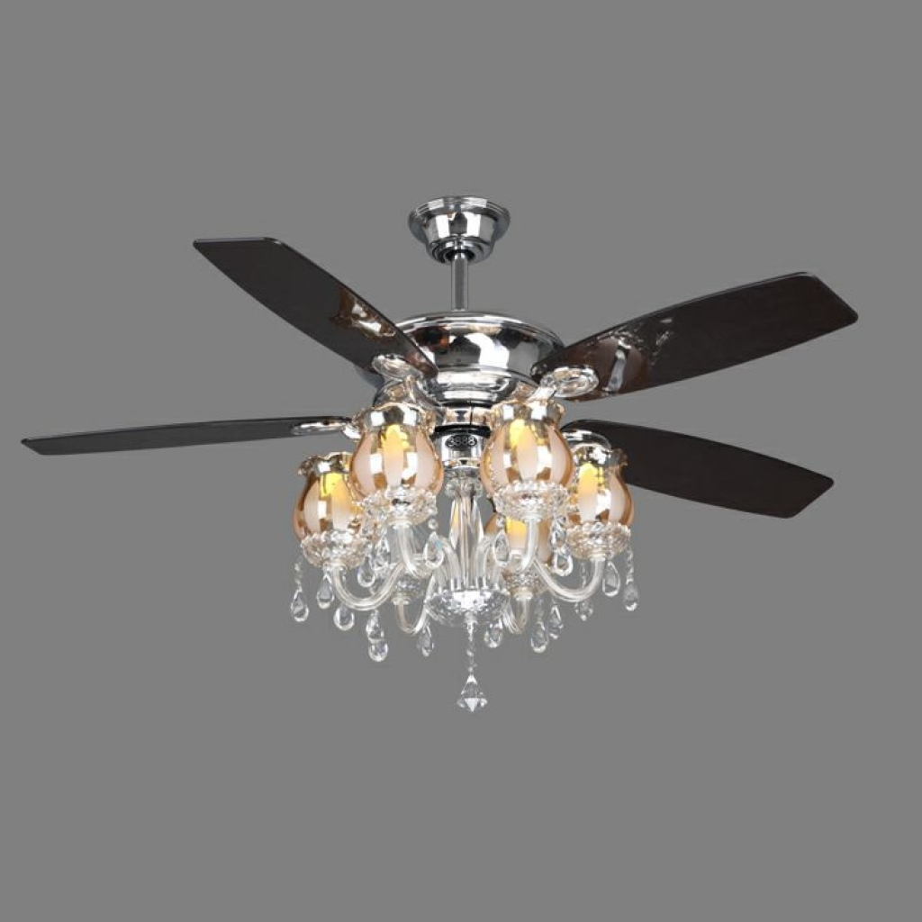 Ceiling Light Fan: Ceiling Fan Chandelier Light