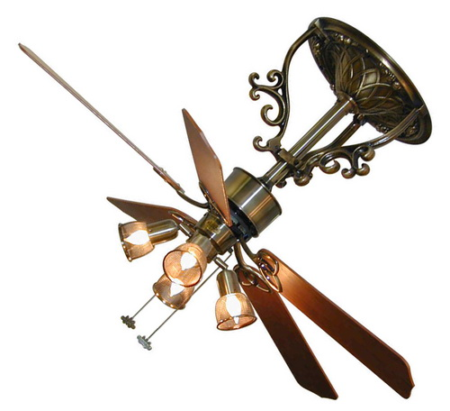 Ceiling Fan With Chandelier Light: Chandelier Ceiling Fan Light