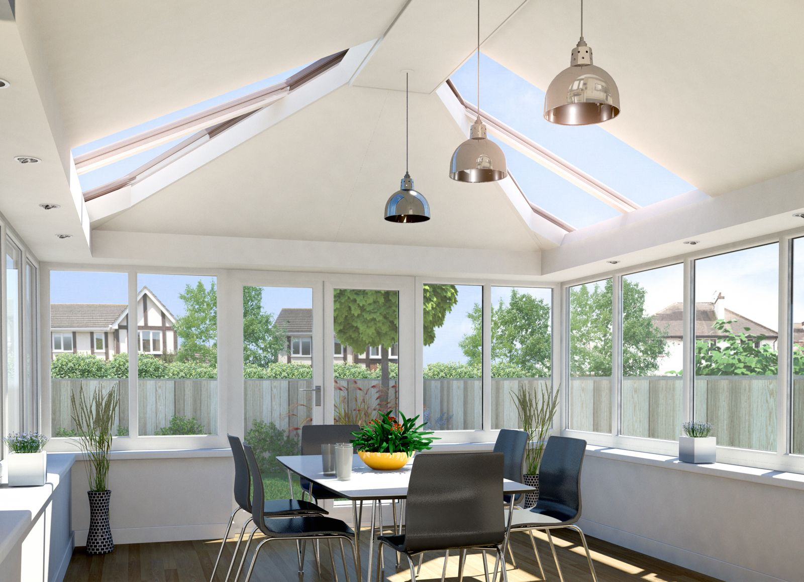 Selecting And Positioning Conservatory Ceiling Lights