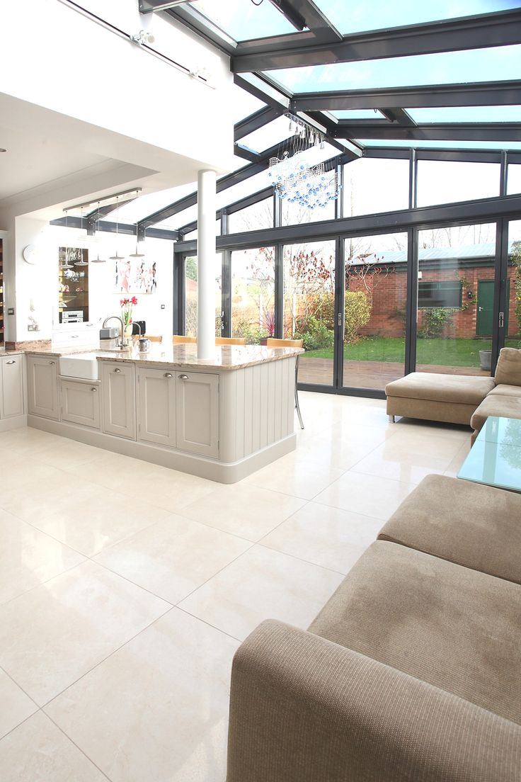 Ideas For Extending Kitchen And Living Room On To The Back Of Your House on