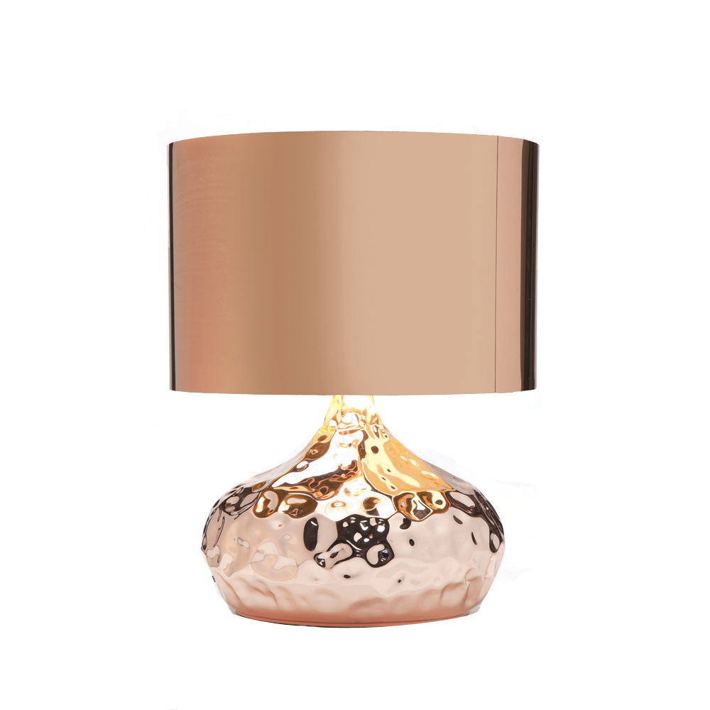 Use Copper Table Lamps To Enhance The Ambiance And Mood Of