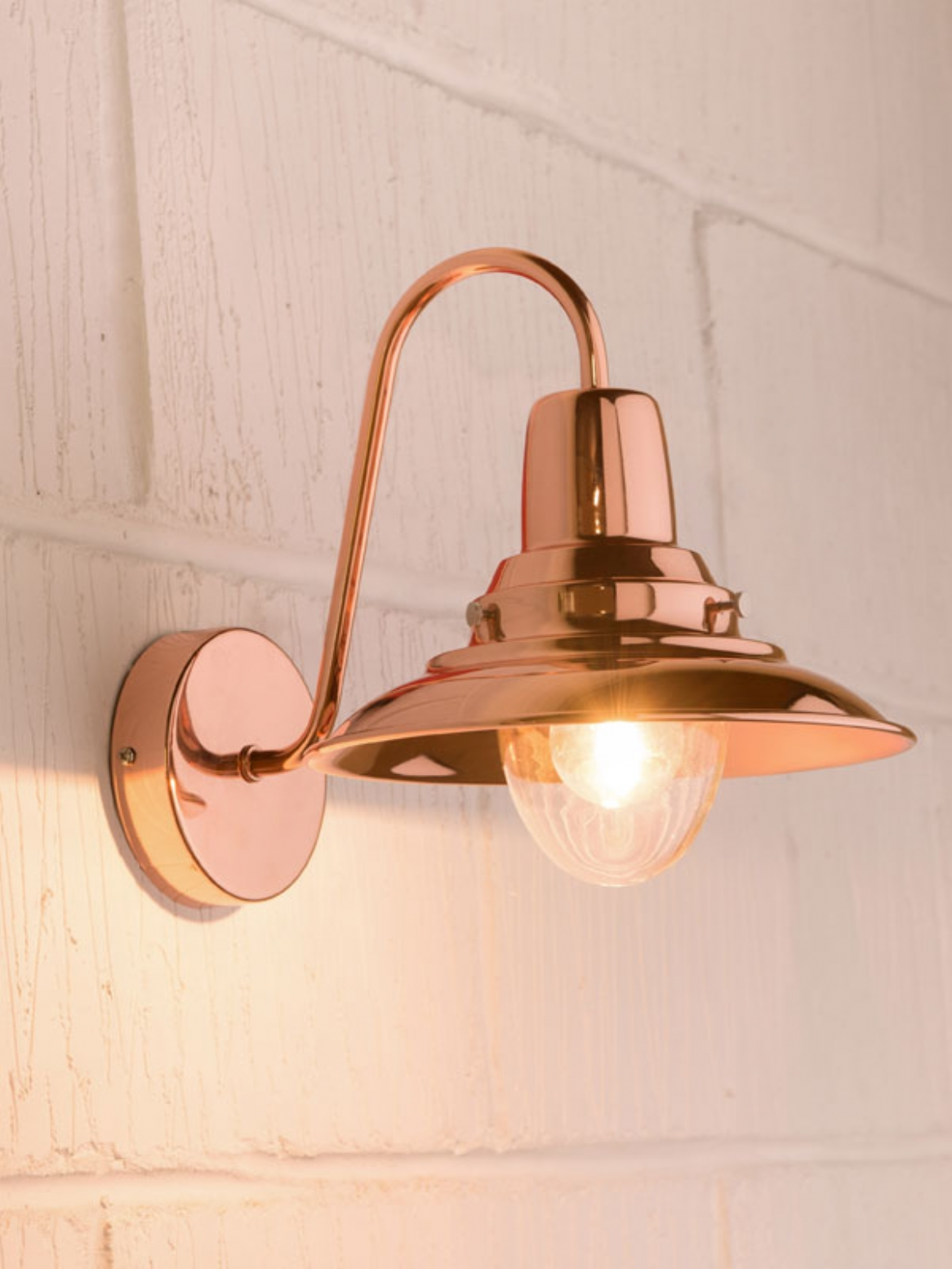Copper wall lights - 10 methods to Give Your Home a Medieval Feel Warisan Lighting