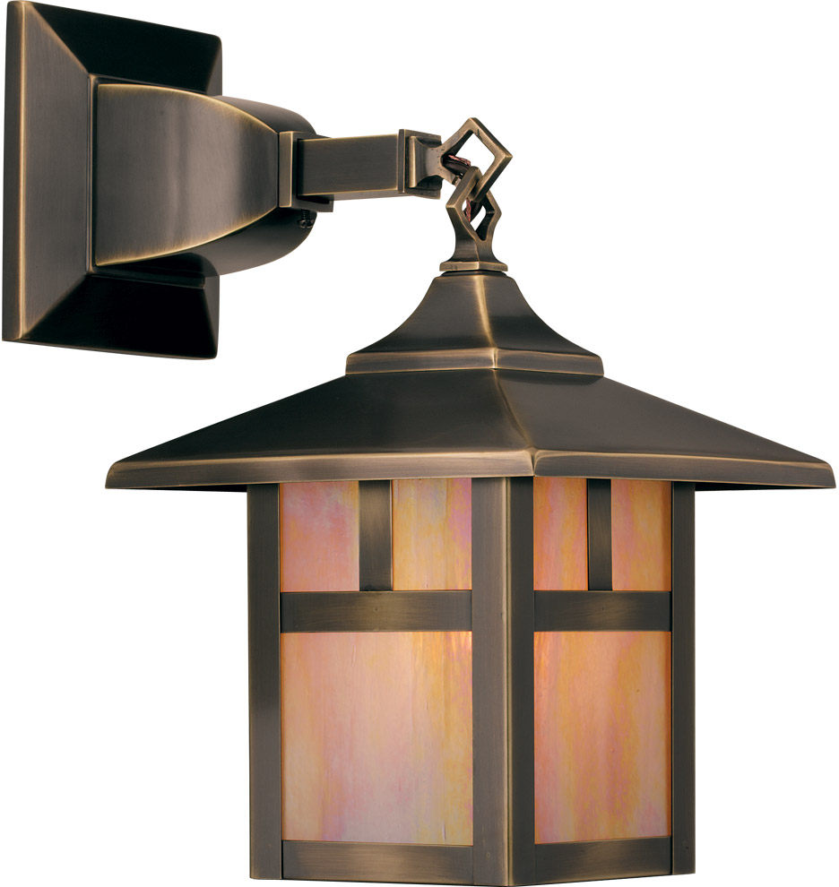 Craftsman style ceiling light illuminate entire rooms for Arts and crafts light