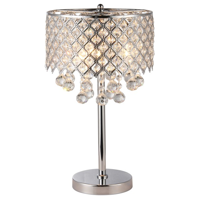 Merveilleux Crystal Chandelier Table Lamps Photo 12