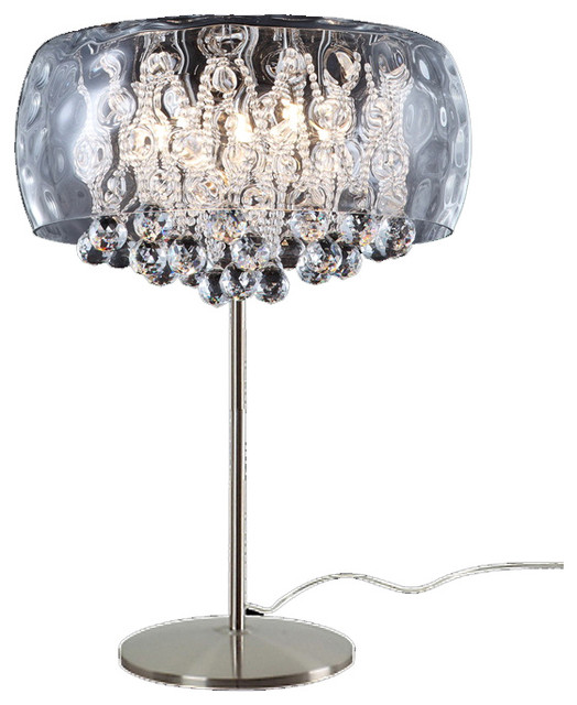 Crystal Chandelier Table Lamps Ways To Make Any Home Shine - Chandelier table lamps crystals