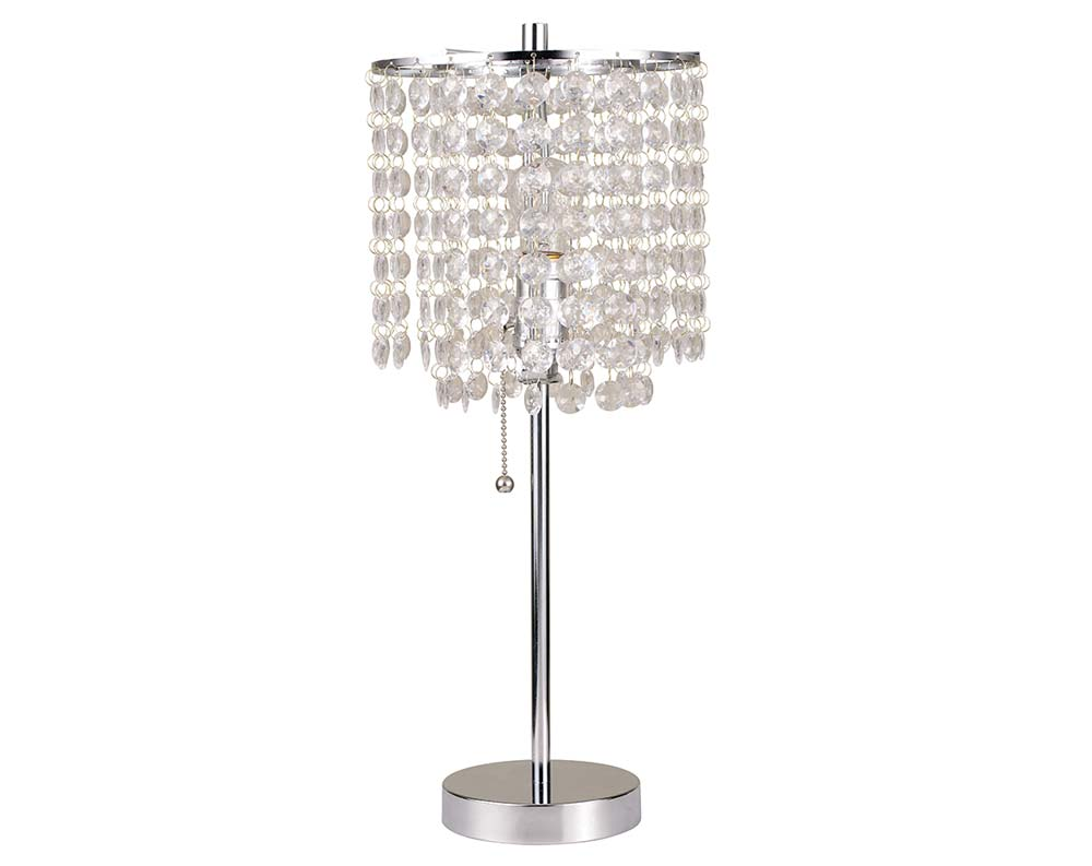 Crystal chandelier table lamps 15 ways to make any home shine crystal clear warisan lighting - Chandelier desk lamp ...