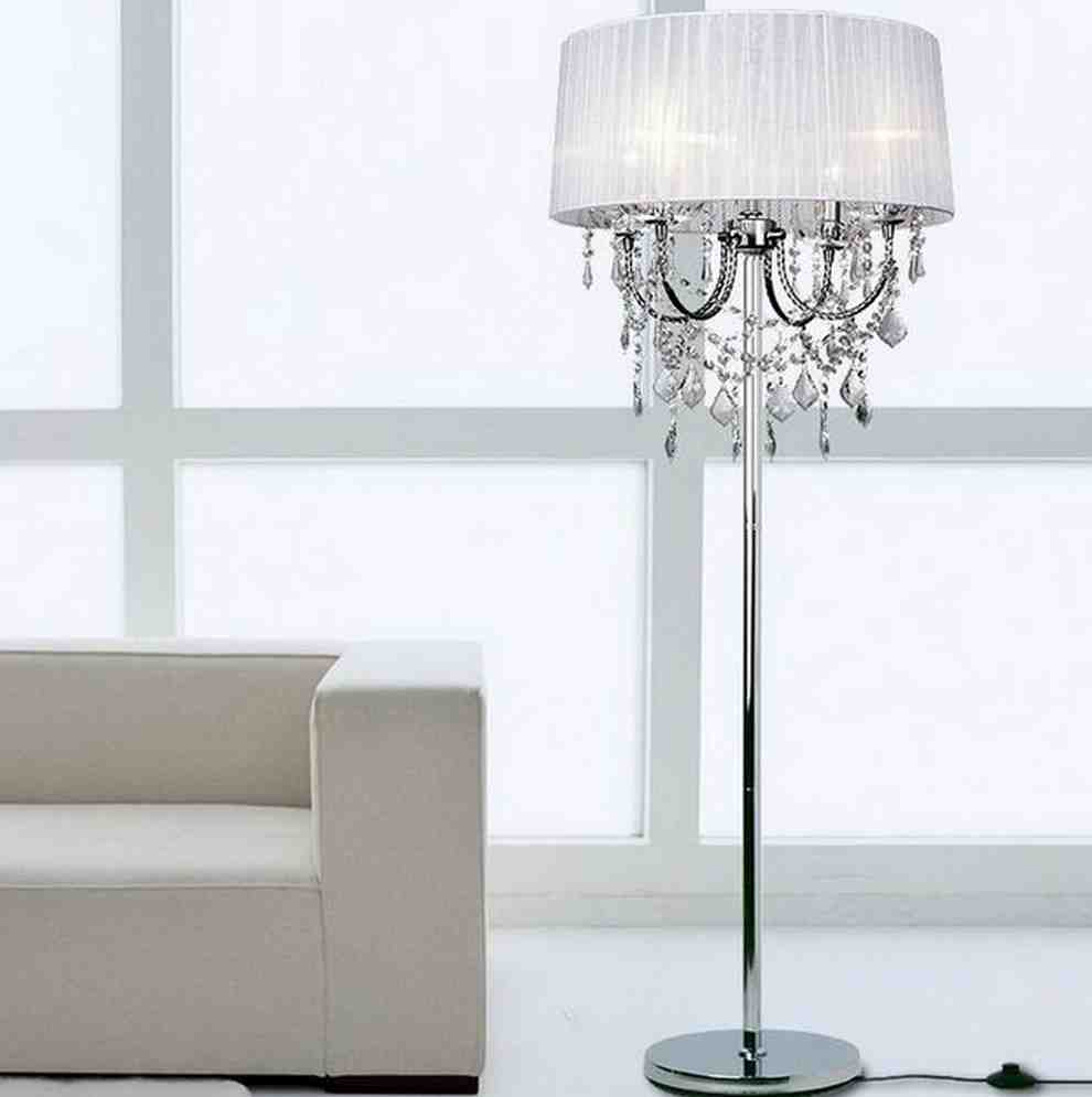 Add Glamor to your home with Floor lamp chandelier : Warisan Lighting