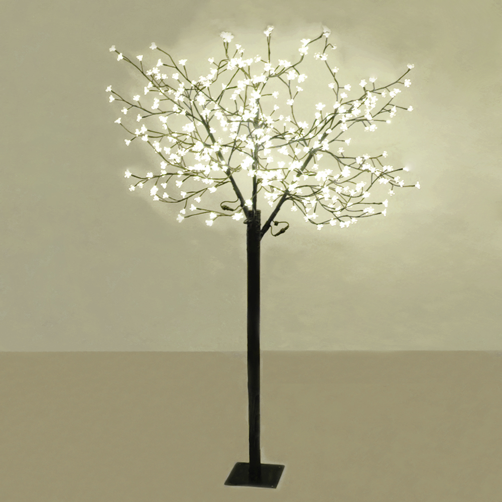 Floor tree lamp 10 lamps covering any type of lighting for Large tree floor lamp