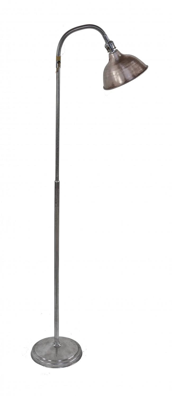 Gooseneck floor lamps enhances the aesthetic decor of for Multiple gooseneck floor lamp