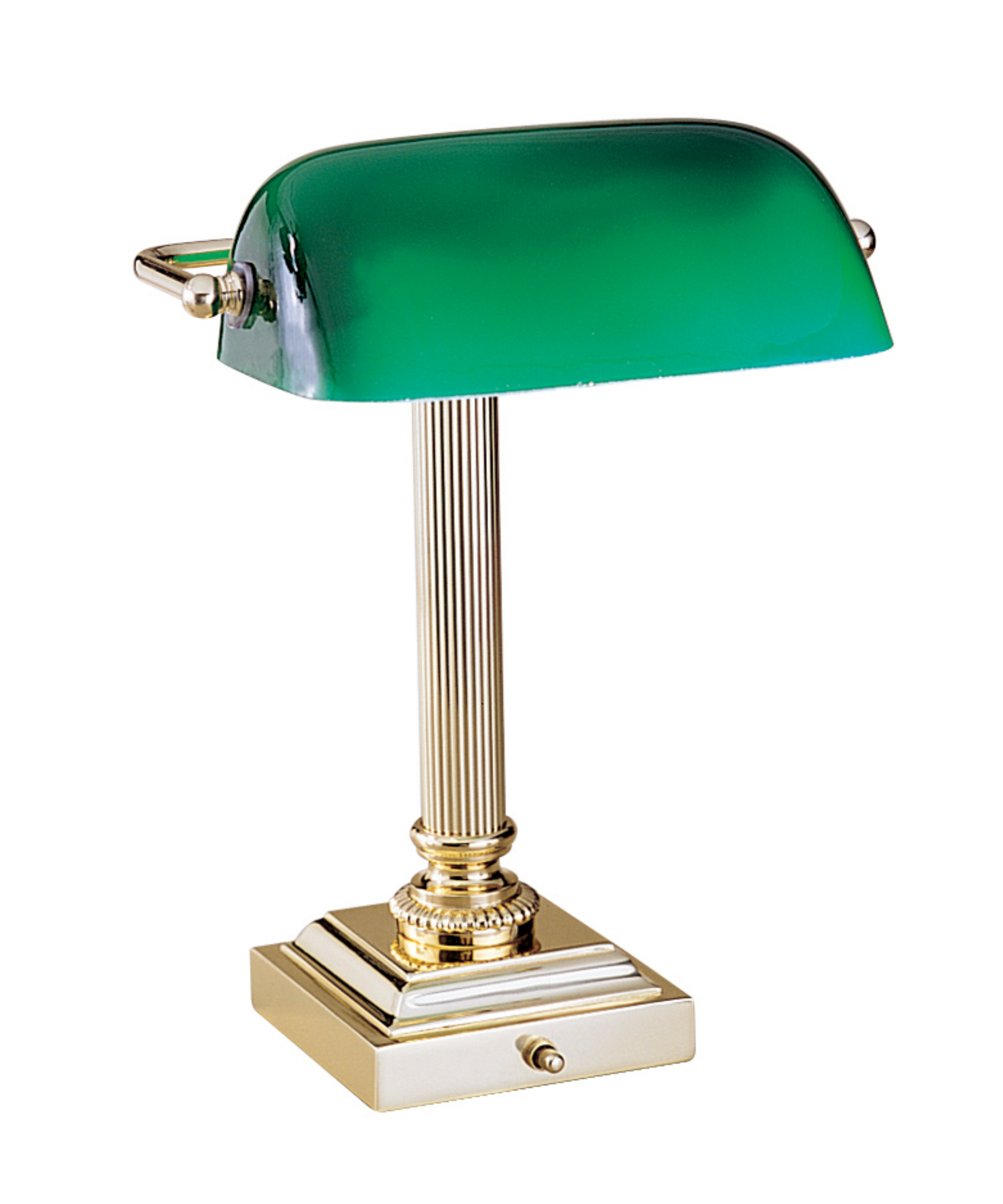 Green glass desk lamp - 10 secret ingredients to having an elegant ...