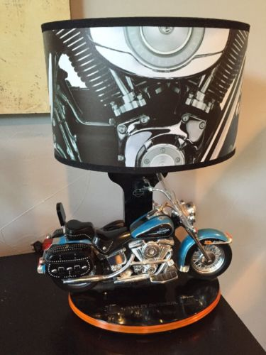 Harley Davidson Motorcycle Lamp Photo 6