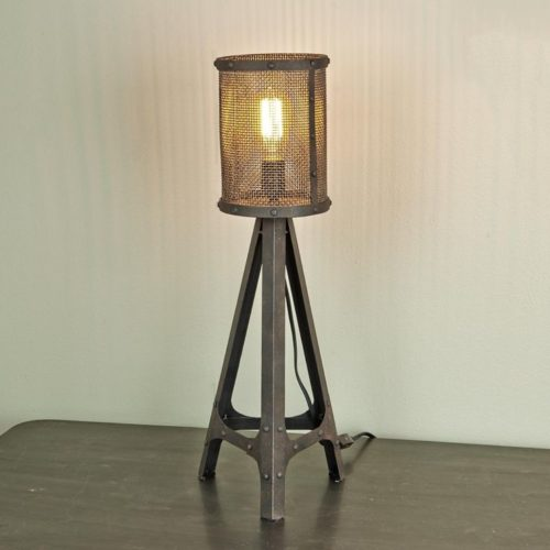 industrial style lampen industrial style table lamps 11. Black Bedroom Furniture Sets. Home Design Ideas