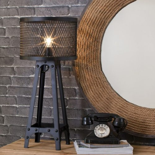 Industrial Style Table Lamps Photo 11