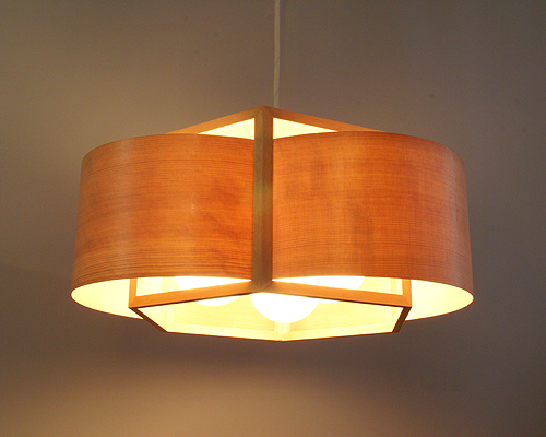 Keep your ceiling traditional with japanese style ceiling for Ceiling lamp wood