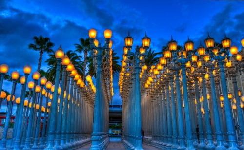 The Los Angeles Landmark Of Light 20 Amazing Lacma Lamps