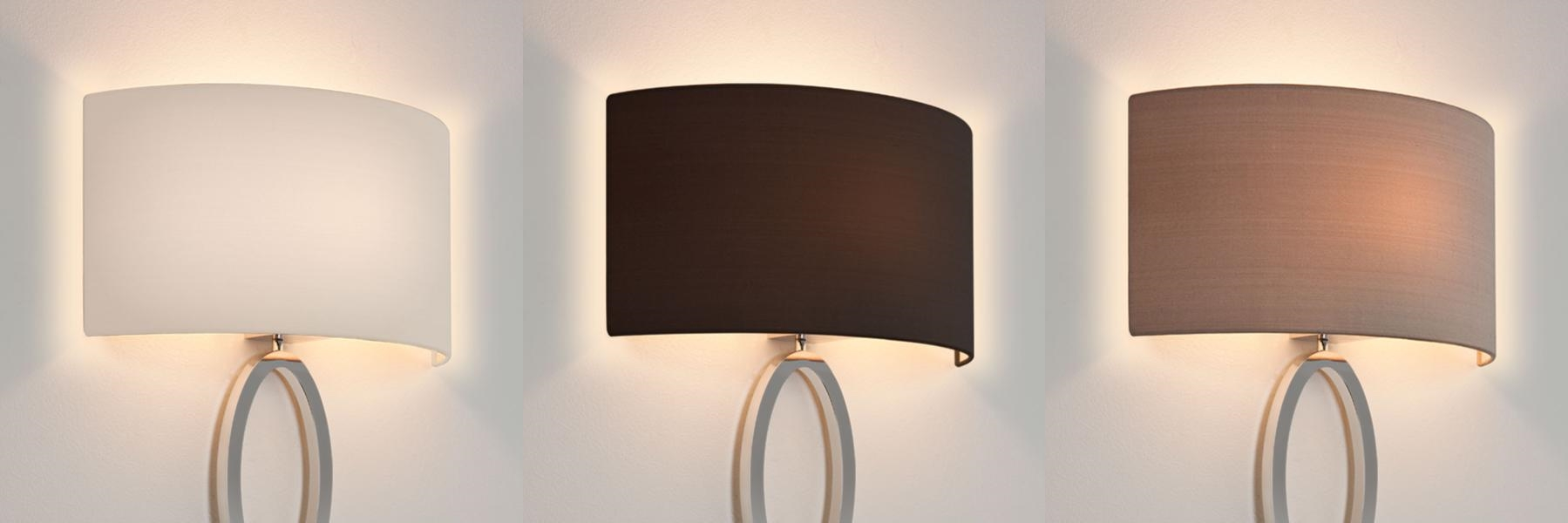 Wall Lamp With Shades : Lamp shades wall lights - your great choice for the ambience Warisan Lighting
