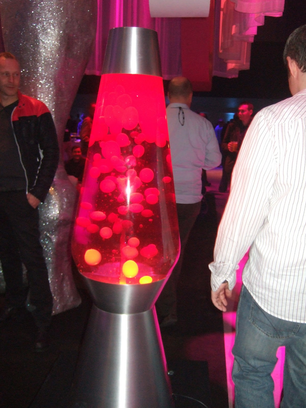 Lava lamp large - How Bright Are They