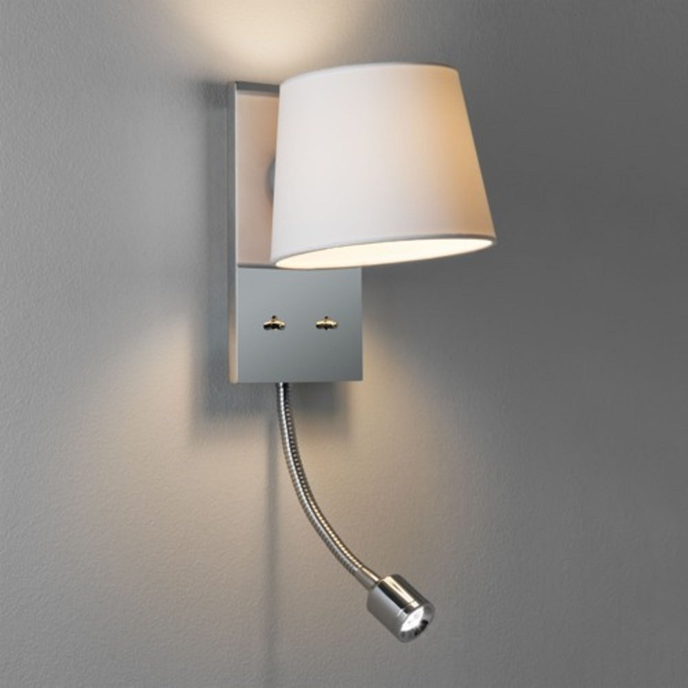 Bedside Wall Lamp With Led : 10 reasons why Led bedside wall lights are ideal lighting for your bedroom Warisan Lighting