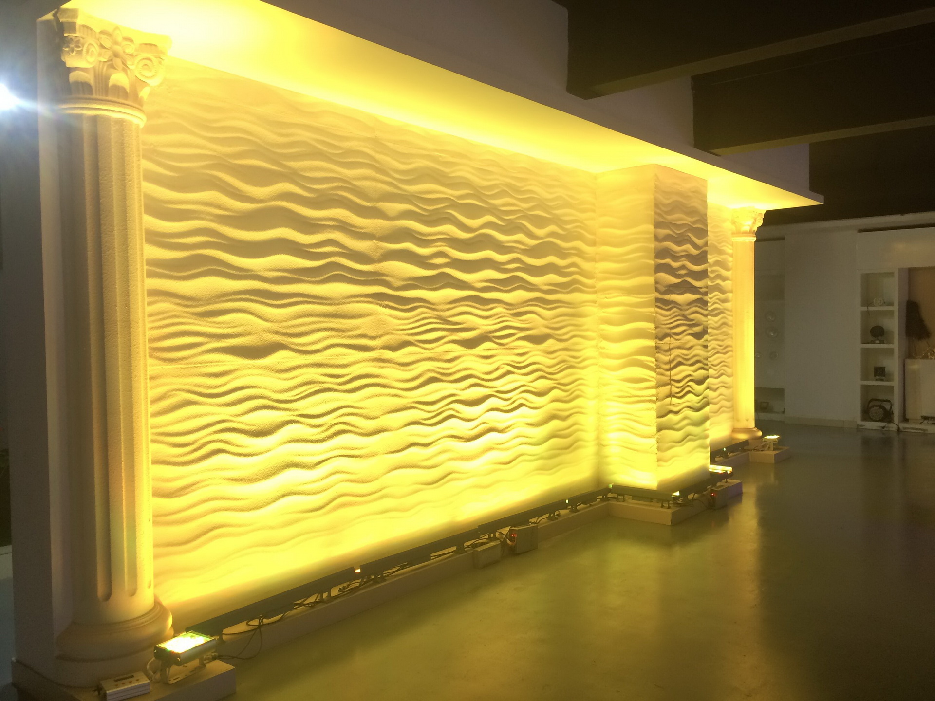 Led Wall Wash Lights Provide A Vibrant Color To Your
