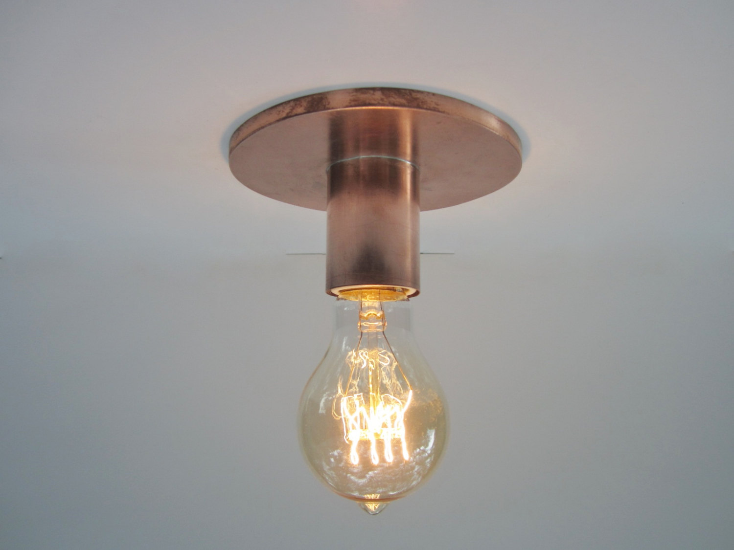 Light Bulb Shaped Ceiling Light 12 Ideal Classic Ceiling