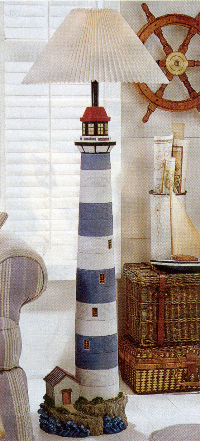 The beauty of the lighthouse floor lamp in your home for Lighthouse home floor plans