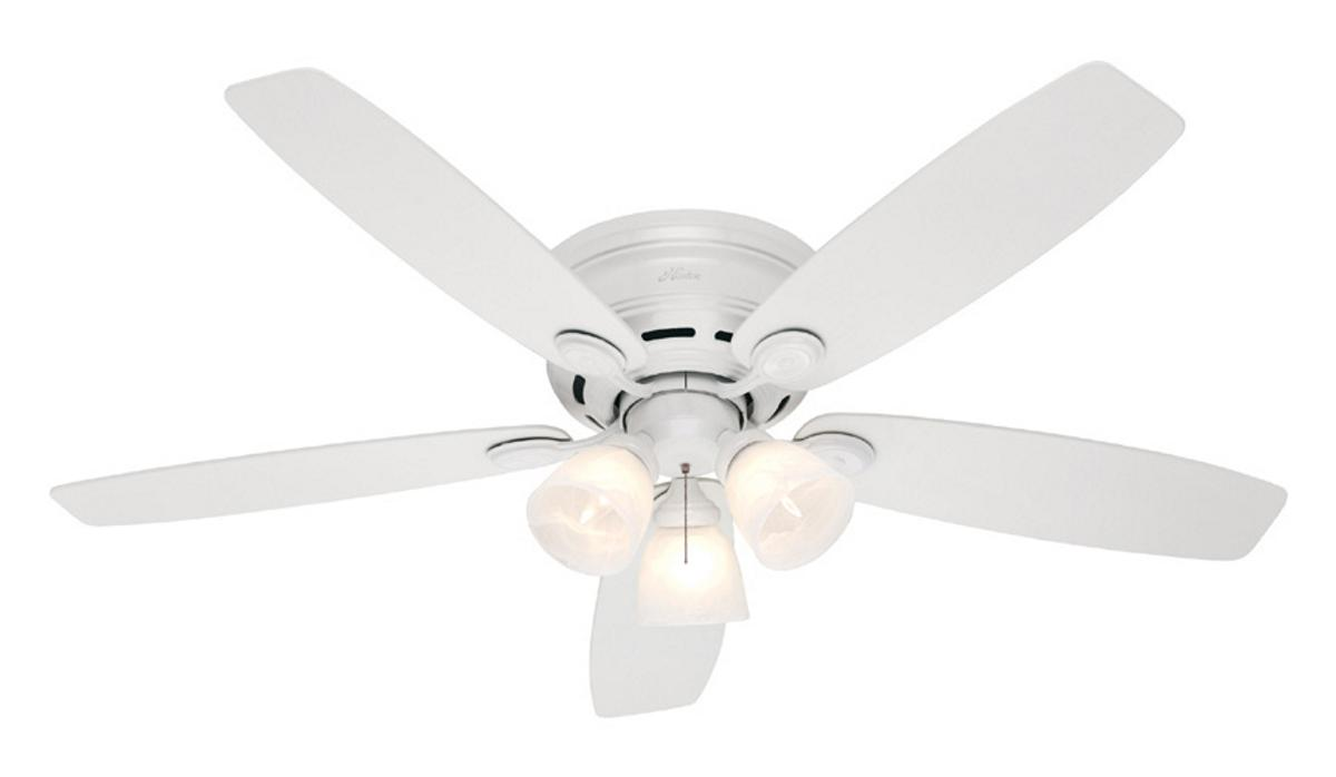 Ceiling Fan With Light Low Profile