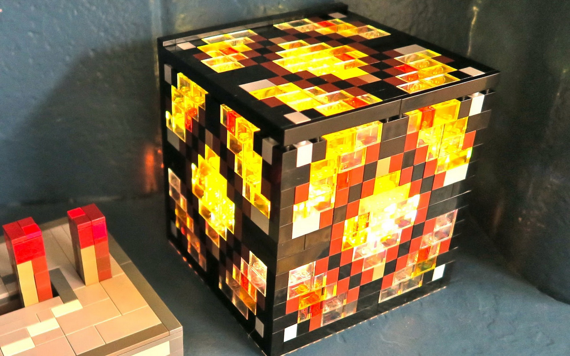 Minecraft how to make redstone lamp 10 tips for real life now you know how to make redstone lamp minecraft aloadofball Images