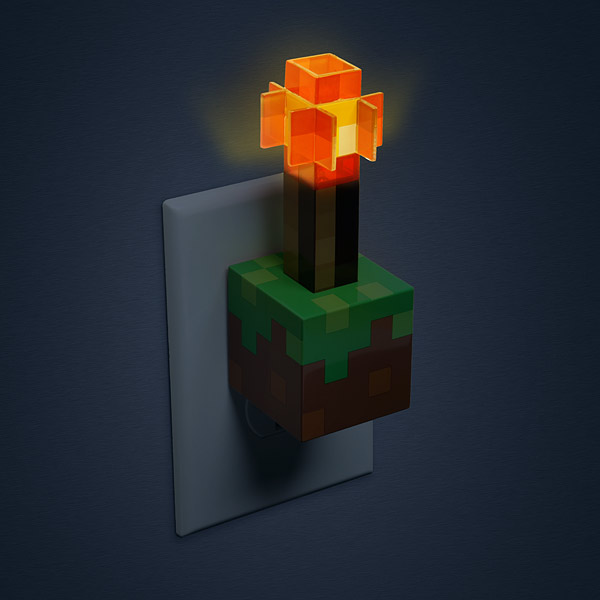 Minecraft Redstone Lamp Photo 9