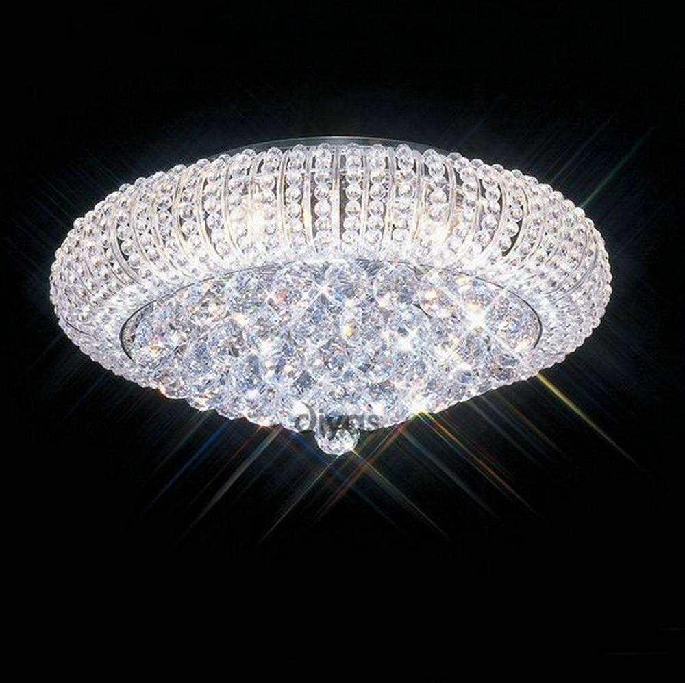 Crystal Chandeliers Ceiling Lights : Modern crystal ceiling lights methods to get your