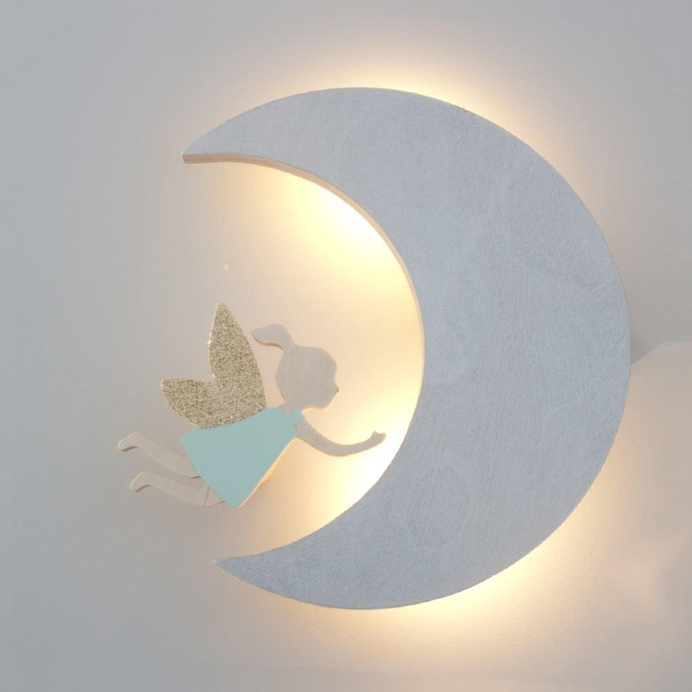 Wall Mounted Moon Lamp : Moon wall light - discover the test-proven lights for a happy home Warisan Lighting