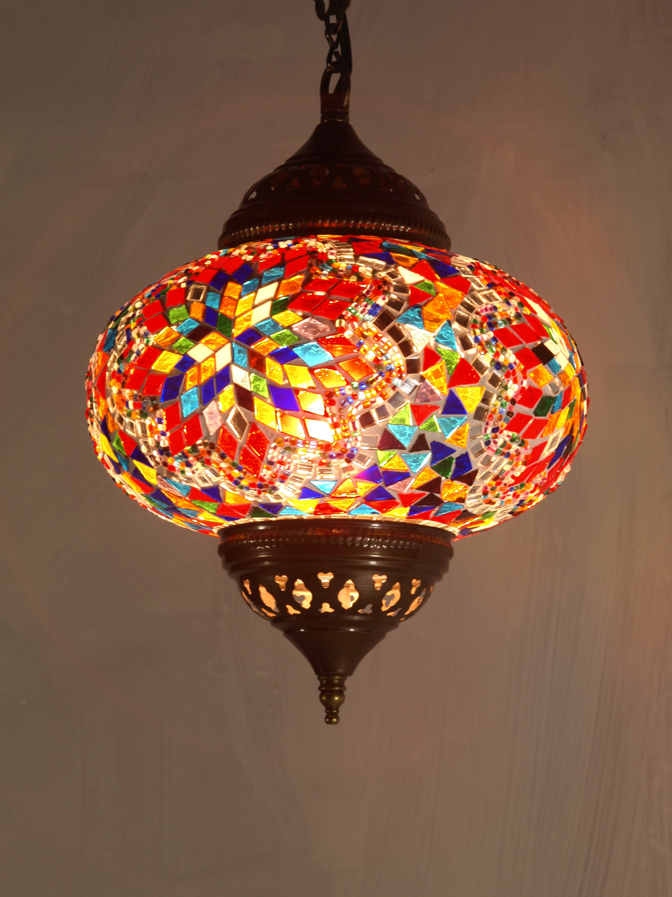 Mosaic Ceiling Light Your Gateway To A Masterful