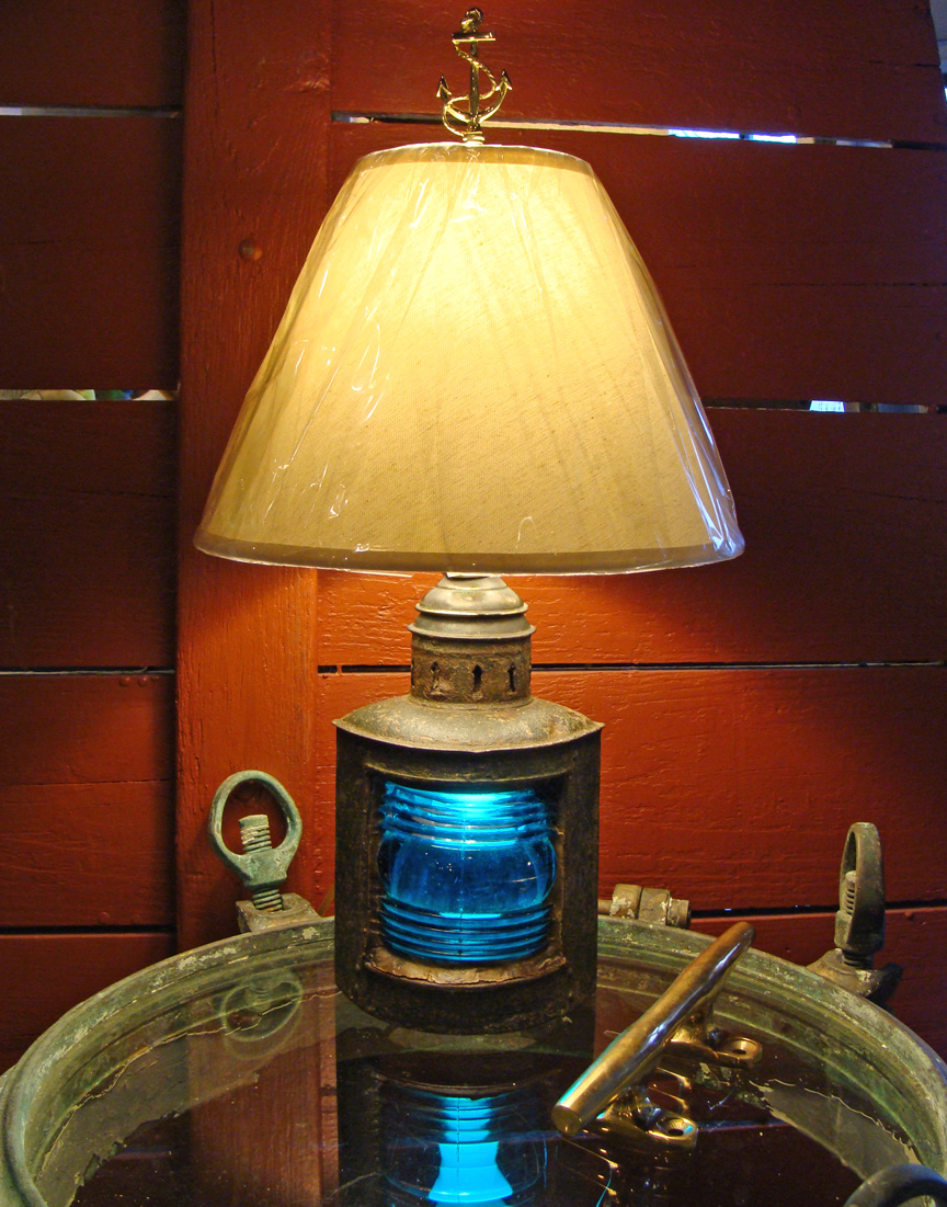 Small Nautical Table Lamps