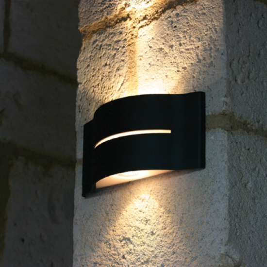 Black Up And Down Led Wall Lights : 10 varieties of outdoor up and down wall lights Warisan Lighting