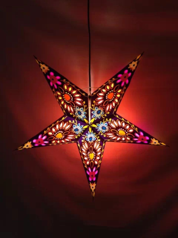 Outdoor Christmas Star Lights