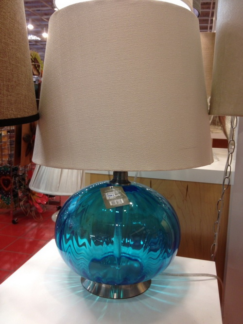 Pier 1 imports lamps warisan lighting for How to make a lamp out of a glass bottle
