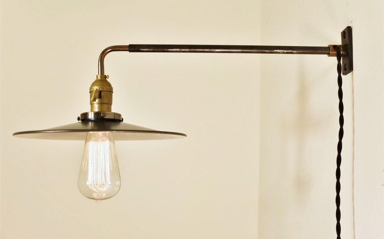 Hanging Lights That Plug Into Wall Outlet : A little practical guide by Plug in sconce wall light Warisan Lighting