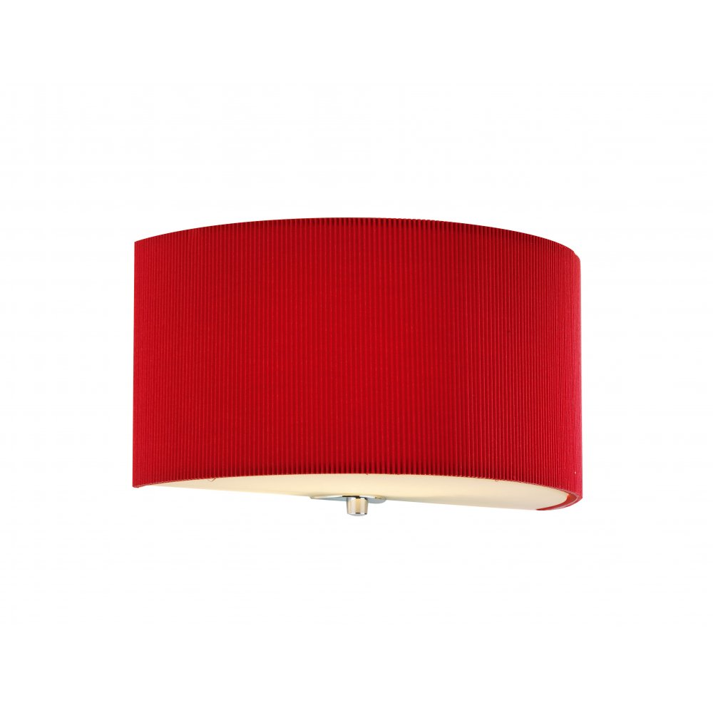 Wall Lamps Red : Red wall lights - Add a splash of colour to your home ! Warisan Lighting