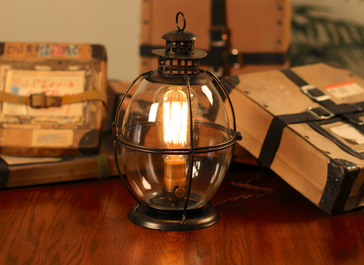Illuminate Your Rooms With The Antique Shades From Rustic