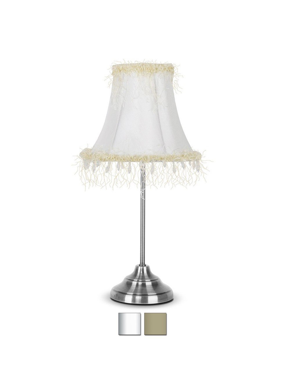 If The Lamp Shade Has Beautiful Colors And Patterns, The Lamp Will  Automatically Stand Out When Lit.There Are Very Many Shabby Chic Table Lamp  Designs That ...