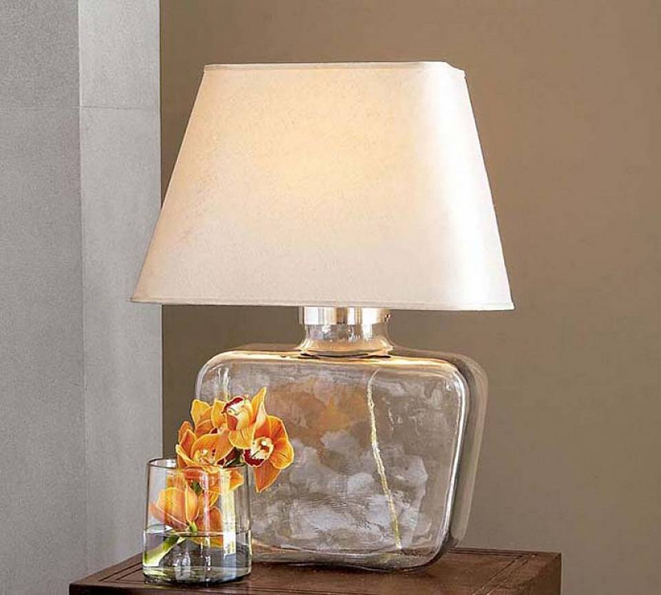 small bedside table lamps great decorations to set the. Black Bedroom Furniture Sets. Home Design Ideas