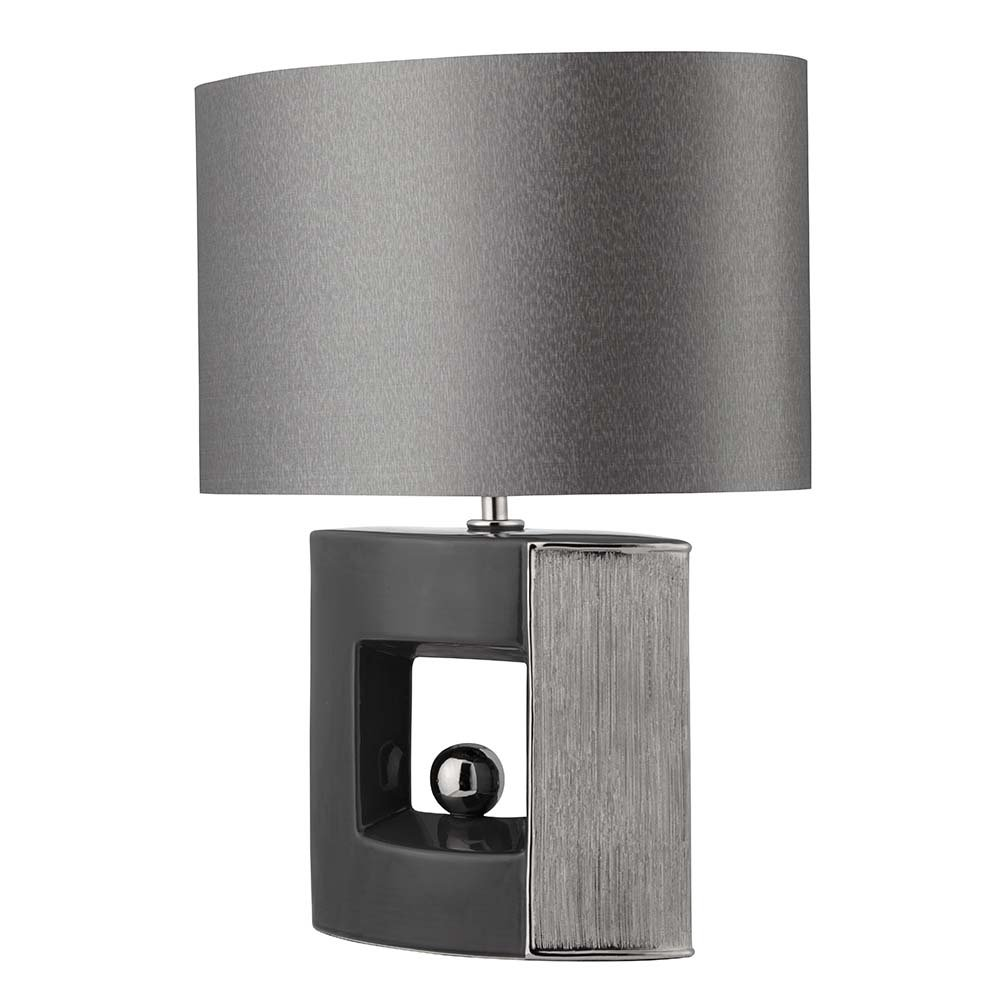 Silver lamp shades for table lamps - Lamp Shades Black And Silver Lamps