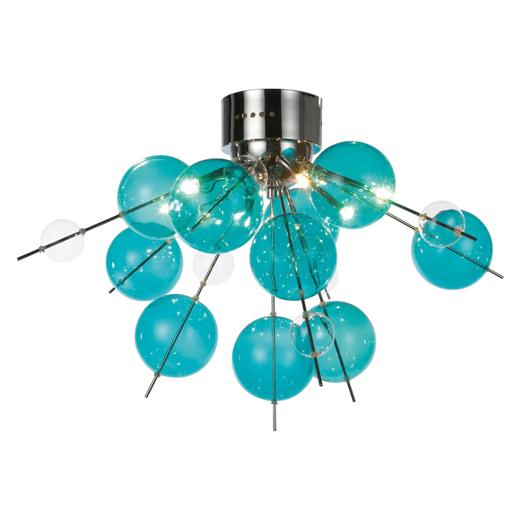 Teal Ceiling Light 13 Perfect Decorations For Rooms With Darker Painting Warisan Lighting