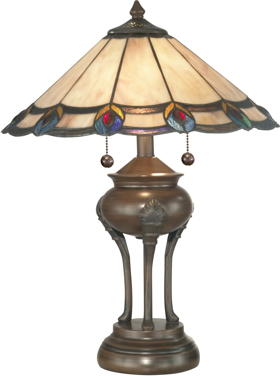 Vintage Table Lamps : Secretss of tiffany antique lamps warisan lighting